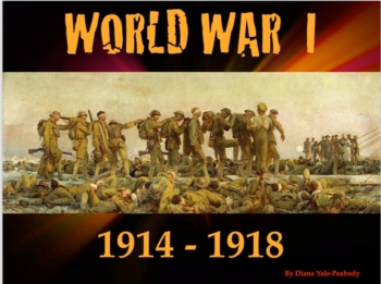 World War 1 for 4th Graders