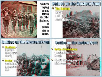 World War 1 in 3D PowerPoint Lesson