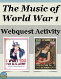 World War 1 in Music Activity