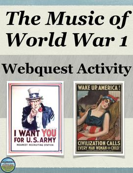 World War 1 in Music Activity