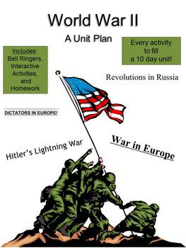 World War 2: A Unit Plan