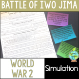 World War 2 Battle of Iwo Jima Simulation, World War II, WW2, WWII