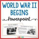 World War 2 Begins PowerPoint and Guided Notes