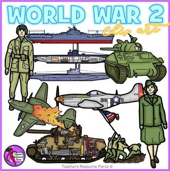 World War 2 clip art