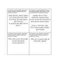 World War 2 Close Read Task Cards TEKS