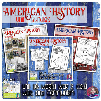 World War 2, Cold War, and Communism Activities Bundle - US History