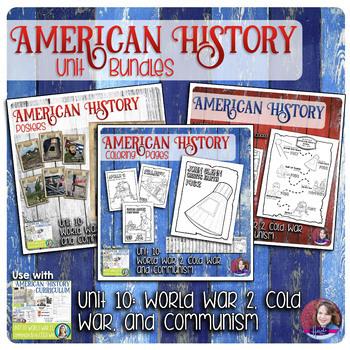 World War 2, Cold War, and Communism Activities Bundle - US History