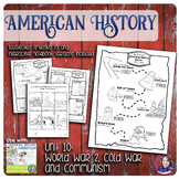 World War 2, Cold War, and Communism Illustrated Timelines - US History
