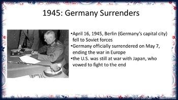 World War 2 | Communism | The Cold War Lesson PowerPoints