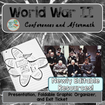 World War 2 Conferences and Aftermath