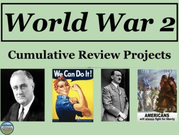 World War 2 Cumulative Review Projects