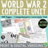 World War 2 Curriculum, World War II, WW2, WWII; Distance