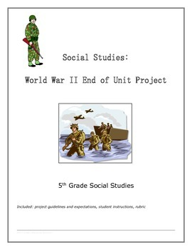 World War 2 End of Unit Project