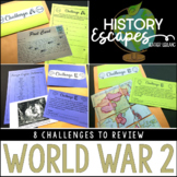 World War 2 Escape Activity, WW2 History Escape, WWII Soci