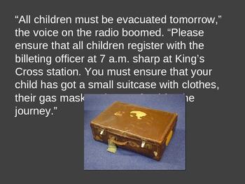 World War 2 Evacuee story prompt
