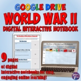 World War 2 Google Drive Interactive Notebook