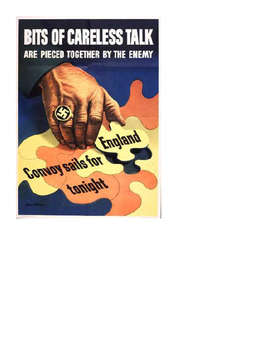 World War 2 Home Front Propaganda Posters