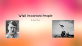 World War 2 Important People