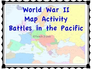 World War 2 - Major Battles - Europe and Pacific BUNDLE!