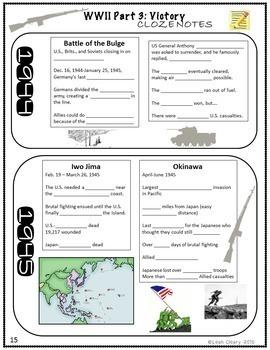 World War 2 Manhattan Project Activity and Part 3 Notes