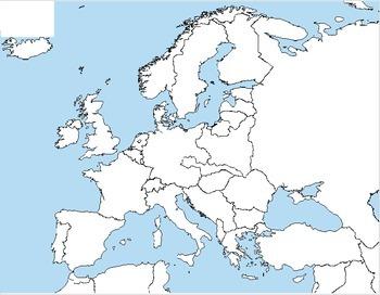 World War 2 - Map Activity