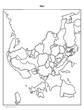 World War 2 Map Activity