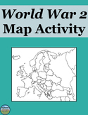 World War 2 Map Activity