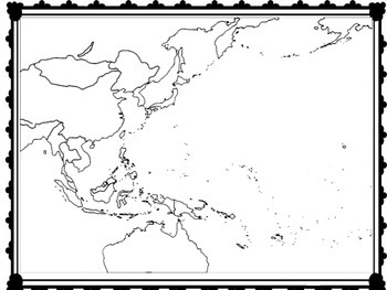 World War 2 - Map Activity - Battles in the Pacific