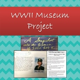 World War 2 Museum Exhibit Creative Project Covering Major Topics