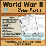 World War 2 Notes Part 1