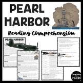 World War II (2) Pearl Harbor Reading Comprehension Worksh