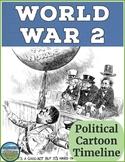 World War 2 Political Cartoon Timeline
