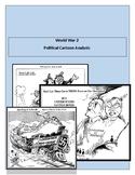 World War 2 Political Cartoon Worksheet.