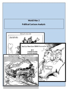 World War 2 Political Cartoon Worksheet.