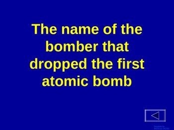 World War 2 (Post Pearl Harbor) - Jeopardy Review
