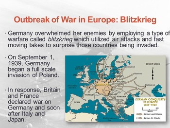 World War 2 PowerPoint and PowerPoint Questions
