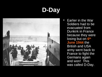 World War 2 Powerpoint - how, why, when and what!