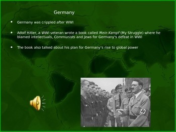 World War 2 - Pre War to Pearl Harbor