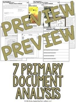 World War 2 Primary Sources, World War II, WW2, WWII Primary Documents
