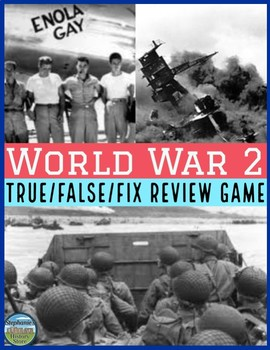 World War 2 Review Game