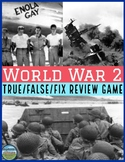 World War 2 Review Game