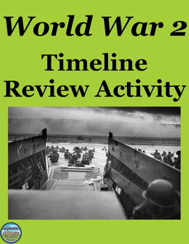 World War 2 Timeline Review
