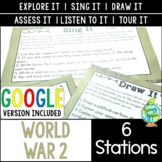 World War 2 Station Activities; Digital Learning; Distance Learning