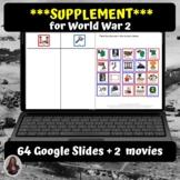 World War 2 Supplementary Digital Activities | Distance Learning