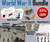World War 2 Task Cards and Activities Bundle: Axis and Allied Powers