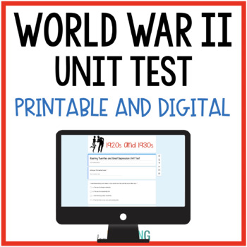 World War 2 Test and Quiz