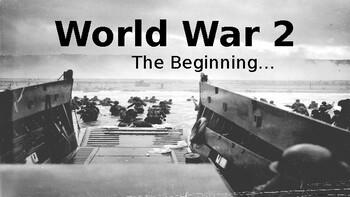World War 2 - The Beginning