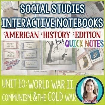 World War 2 | The Cold War | Communism American History Unit Bundle