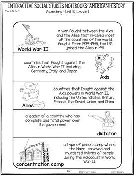 World War 2   The Cold War   Communism Interactive Notebook