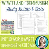 World War 2   The Cold War   Communism Study Guides and Tests
